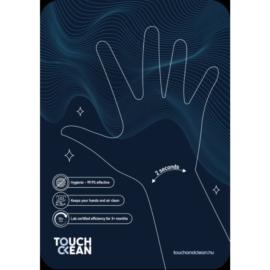 Touch and Clean fertőtlenítő lap A5