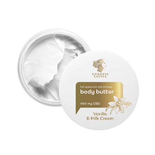 Goddes Sativa Vanilla Milk Testvaj 450 mg CBD