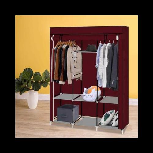 Mobil ruhás szekrény, bordó