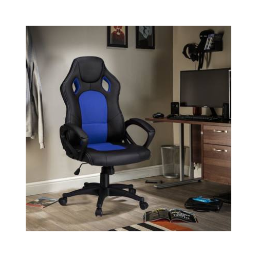 Gamer szék - kék