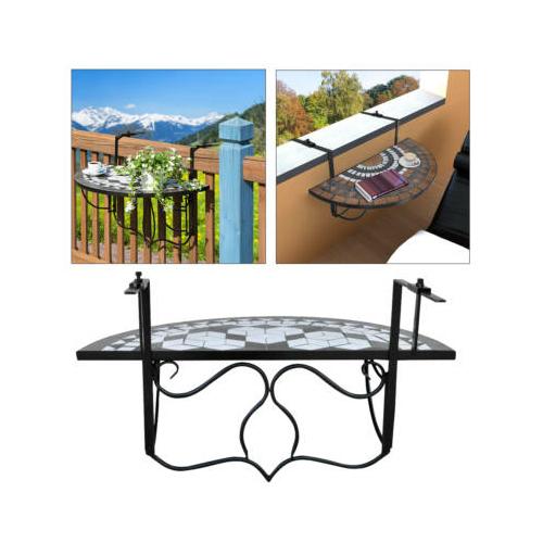 Lehajtható balkon asztal
