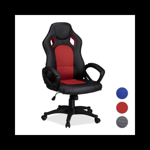 Gamer szék - piros