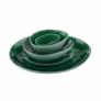 Kép 3/4 - DE LA ROYA tányér sötét zöld