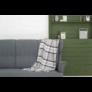 Kép 1/3 - NEPAL Szürke színű kockás pléd 130*170 cm