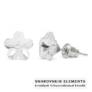Kép 1/3 - Jazzy átlátszó SWAROVSKI® kristályos fülbevaló - Virág Crystal