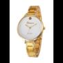 Kép 1/3 - Luxury Look arany Geneva fémszíjas női karóra