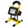 Kép 1/4 - Hordozható akkumulátoros LED reflektor, 10 W