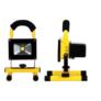 Kép 2/4 - Hordozható akkumulátoros LED reflektor, 10 W