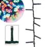 Kép 1/3 - 360 LED-es karácsonyi fényfüzér, 8 mozgó beállítással, színes