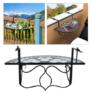 Kép 1/3 -  Lehajtható balkon asztal