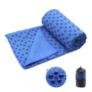Kép 3/5 - Csúszásgátlós jógatörölköző ajándék táskával - kék