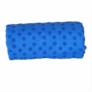 Kép 4/5 - Csúszásgátlós jógatörölköző ajándék táskával - kék