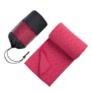 Kép 3/4 - Csúszásgátlós jógatörölköző ajándék táskával - rózsaszín