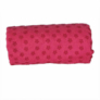 Kép 4/4 - Csúszásgátlós jógatörölköző ajándék táskával - rózsaszín