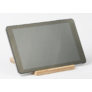 Kép 2/6 - Krea-Wood nyírfából készült tablet tartó állvány, natúr színben