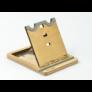Kép 4/6 - Krea-Wood nyírfából készült tablet tartó állvány, natúr színben