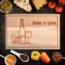 Kép 1/2 - Egyedi vágódeszka borban az igazság XXL